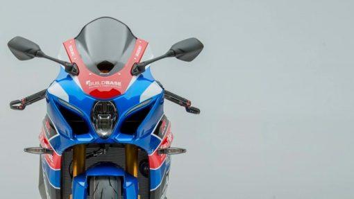 2018 Suzuki GSX-R1000R Buildbase bike - close front view