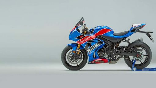 2018 Suzuki GSX R1000R Buildbase bike - left side