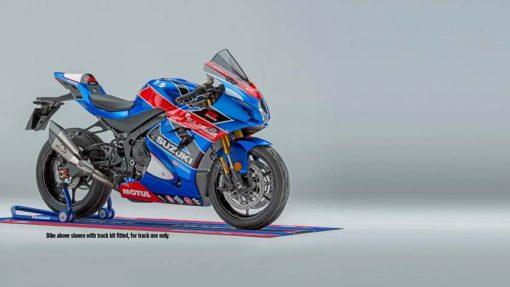 2018 Suzuki GSX R1000R Buildbase motorbike - studio photo