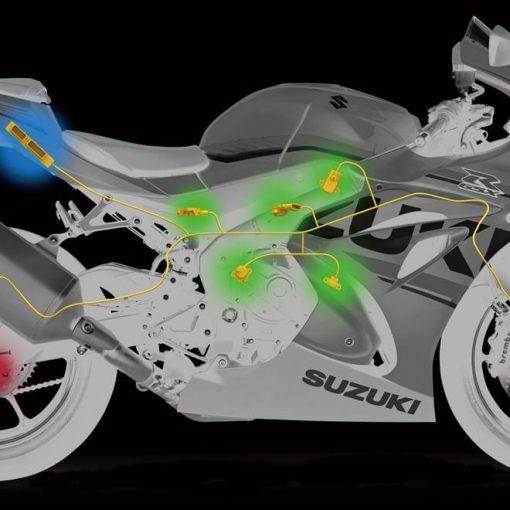 2018 Suzuki GSX R1000R Buildbase motorbike - tech