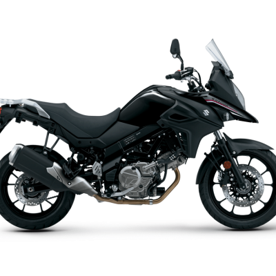 Suzuki V-Strom 650 GTA - Glass Sparkle Black (YVB)