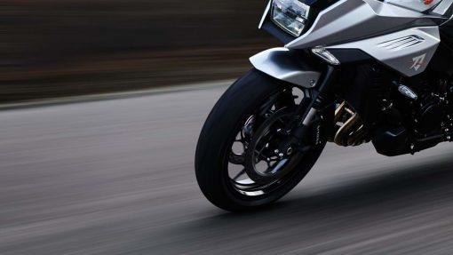 Suzuki Katana motorbike - fully adjustable forks