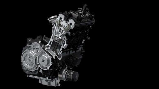 Suzuki Katana - engine, clutch assist system