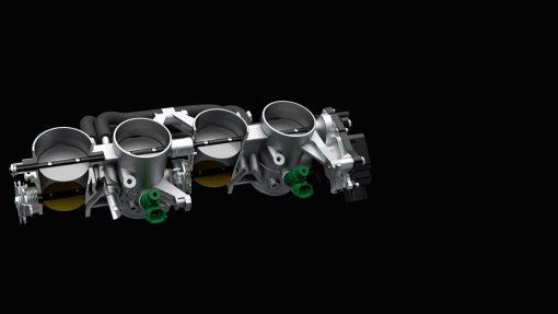 Suzuki Katana - tech, low RPM assist