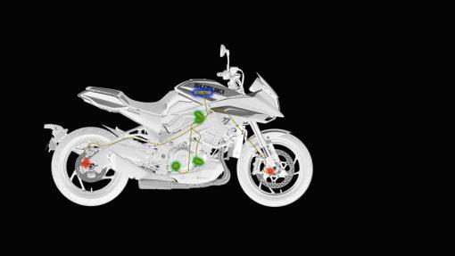 Suzuki Katana - tech, traction control system