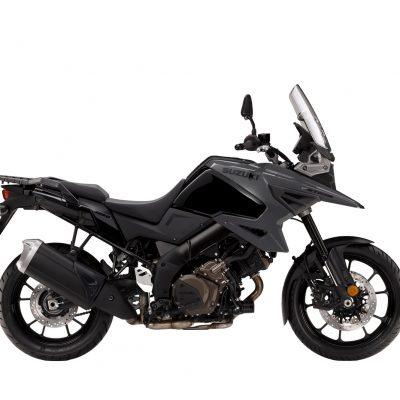 Suzuki V-Strom 1050 Black Grey - side view, facing right